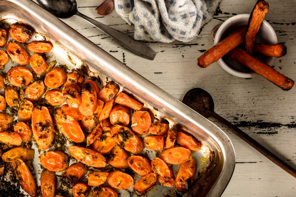 Oven roasted carrots recipe - SunCakeMom