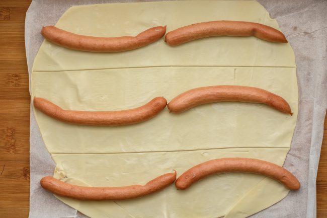 Sausage roll recipe - SunCakeMom