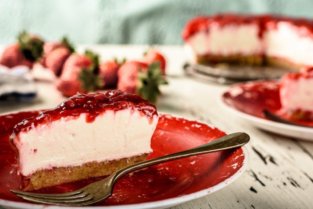 Strawberry cheesecake recipe - SunCakeMom