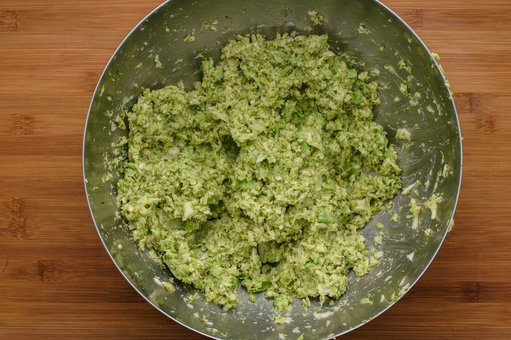Broccoli fritters recipe - SunCakeMom