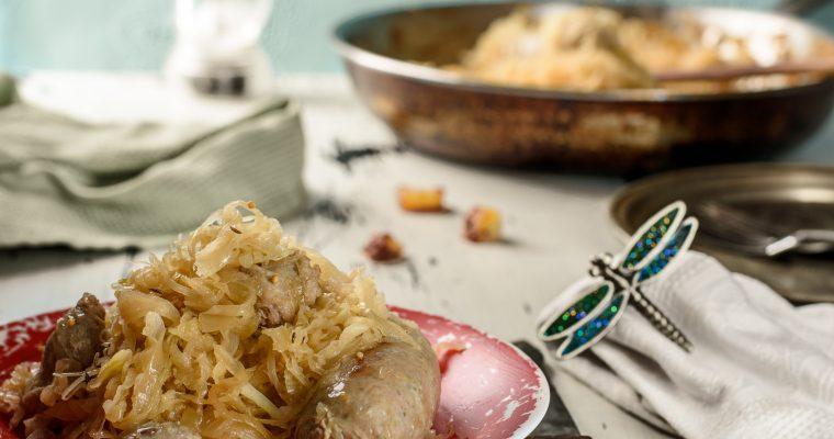 Kielbasa Sausage and Sauerkraut Recipe