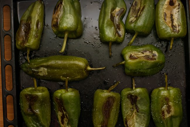 Stuffed poblano peppers recipe - SunCakeMom