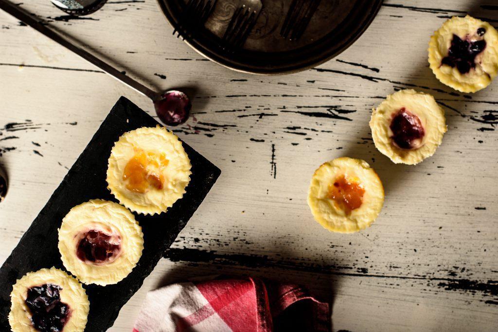 Cheese cake bites recipe - SunCakeMom