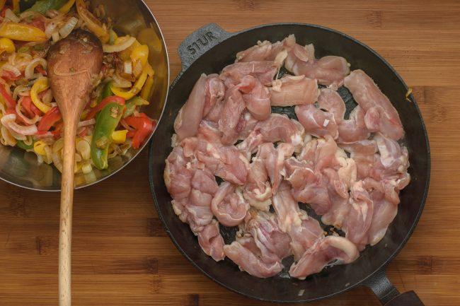Chicken fajitas recipe - SunCakeMom