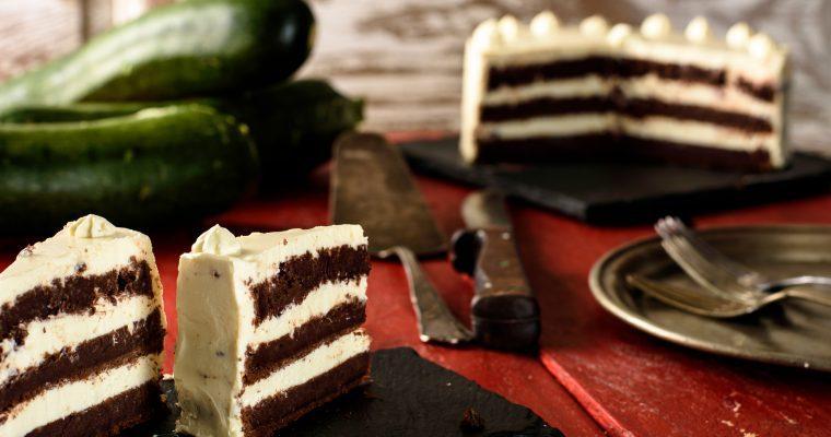 Chocolate Zucchini Cakes Recipe