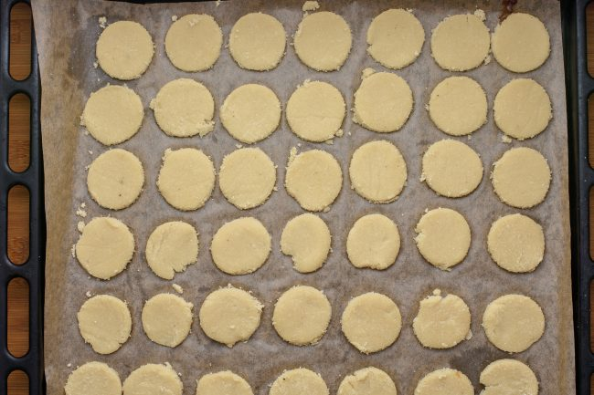 Coconut flour cookies - SunCakeMom