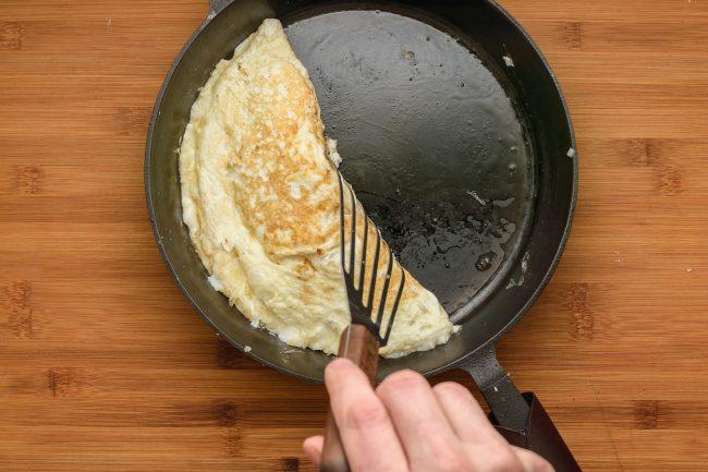 Egg white omelette SunCakeMom