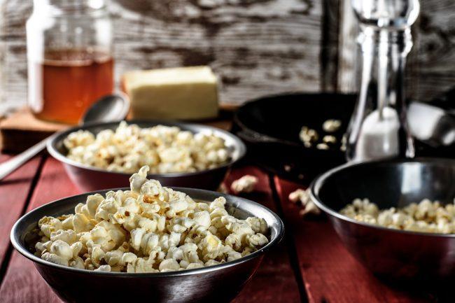 Butter popcorn recipe - SunCakeMom