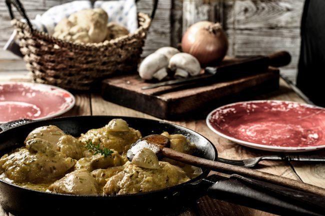 Chicken fricassee recipe - SunCakeMom