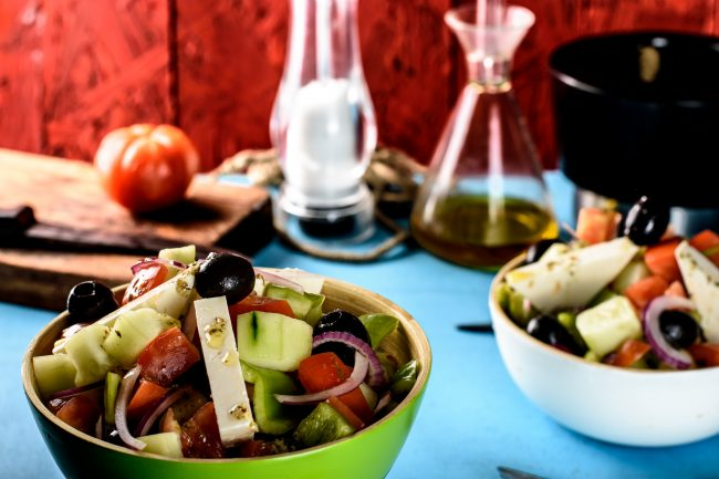 Greek salad recipe - SunCakeMom